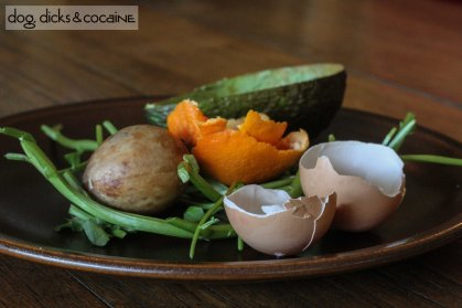Recipe dog dicks cocaine a little of todays food prep waste mmm mmm good egg shell avocado pit and peel orange peel watercress stalk soup anyone forumfinder Choice Image